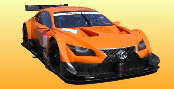Lexus LF-CC para el Super GT cazado en vídeo