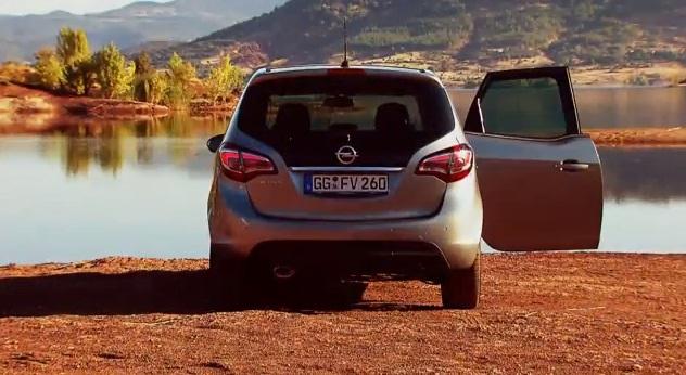 Así se muestra el nuevo Opel Meriva en su primer vídeo comercial