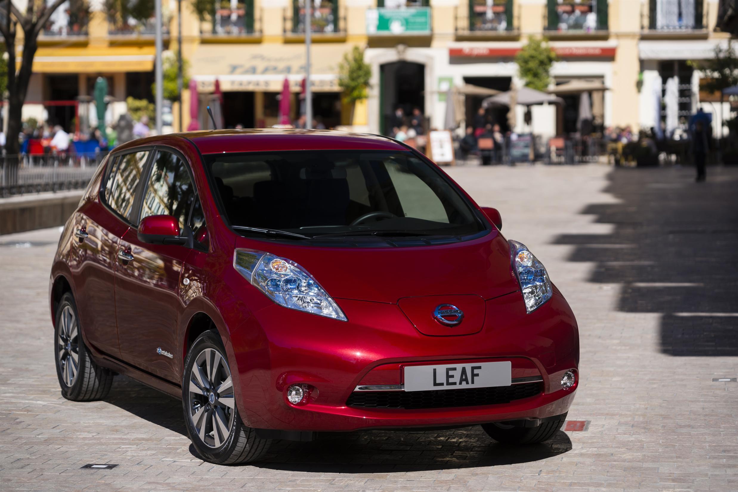 Hazte con un Nissan Leaf a precio de derribo
