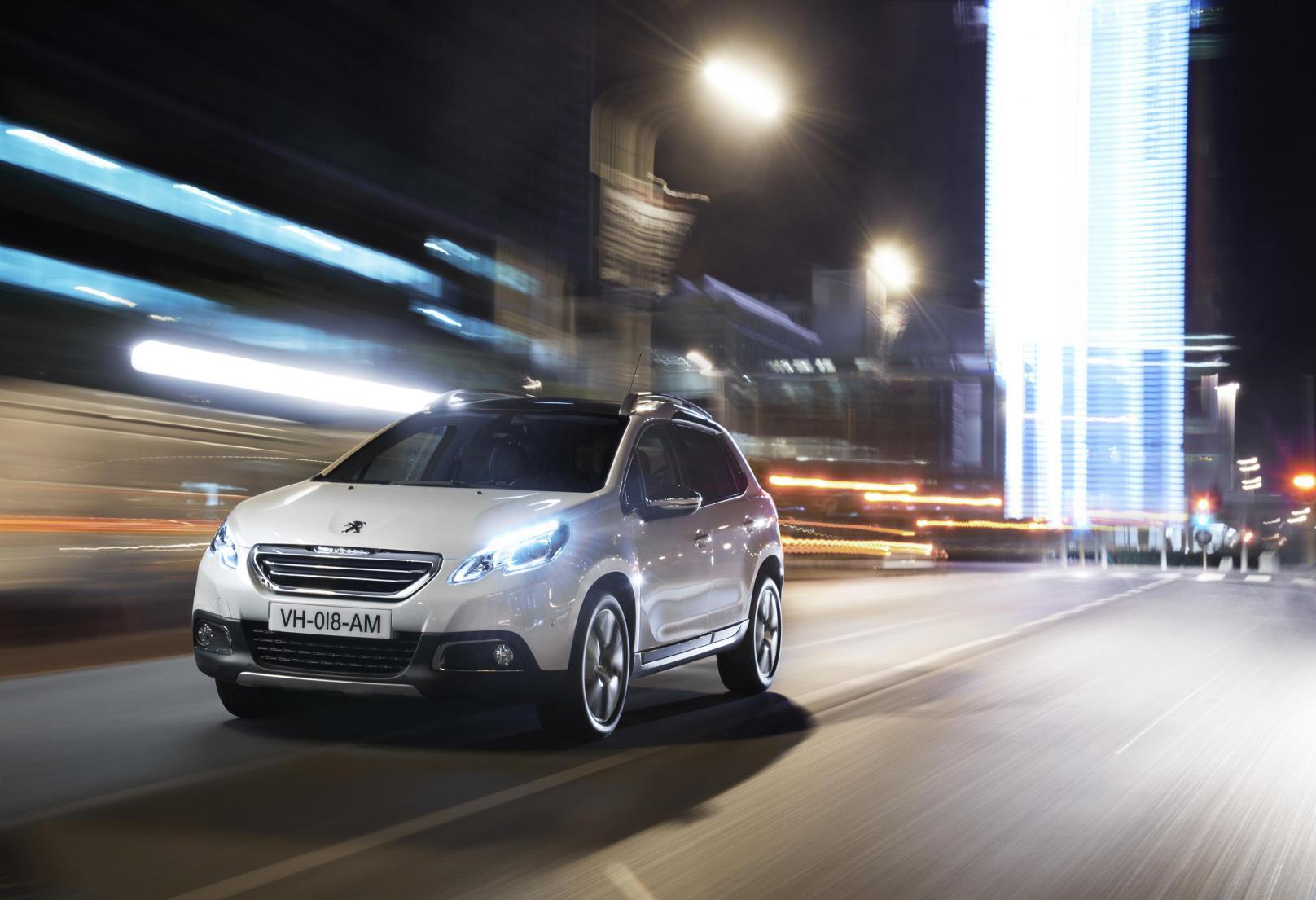 Peugeot 2008, ahora con 5 estrellas en la EuroNCap de serie