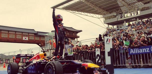 GP de Corea 2013: Vettel, sin prisa pero sin pausa, a por el título
