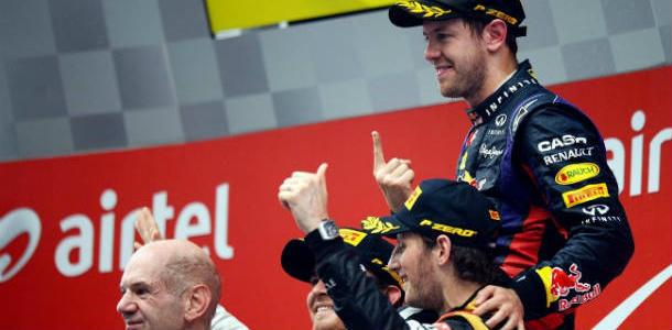 GP de India 2013: Vettel tetracampeón