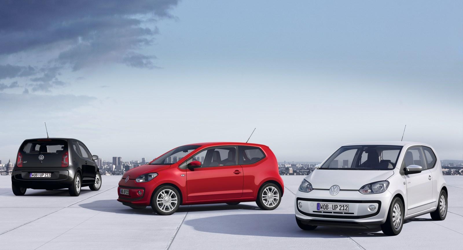 La unidad número 250.000 del Volkswagen Up! sale de la cadena de montaje