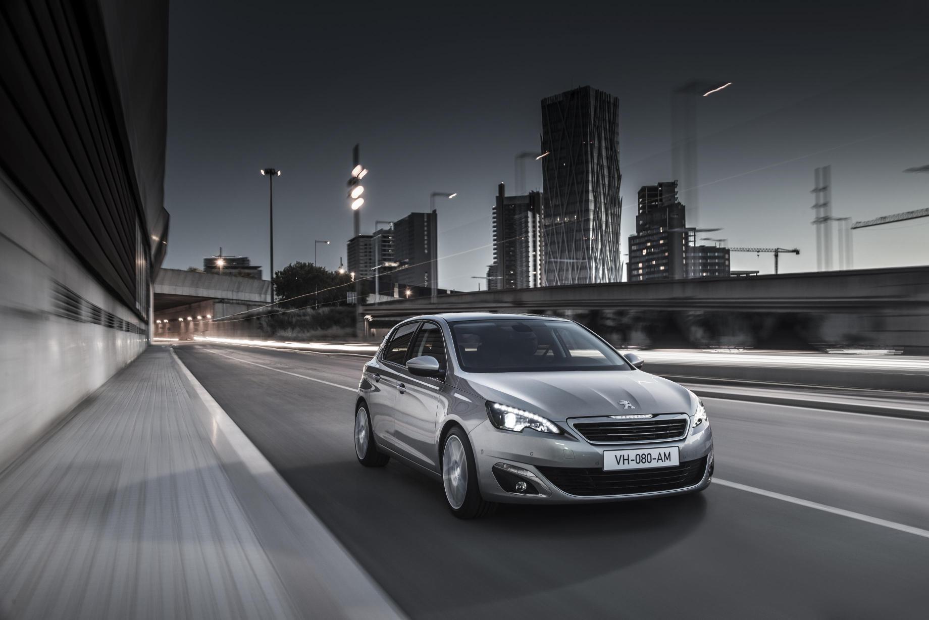 5 Estrellas en la EURONCAP para el nuevo Peugeot 308