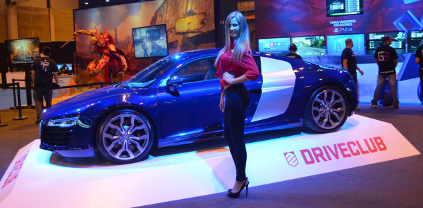 Los coches de la Madrid Games Week: Audi R8 V10