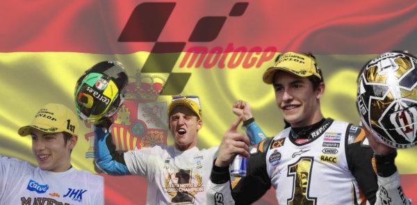 Tricampeonato español en el mundial de motociclismo 2013