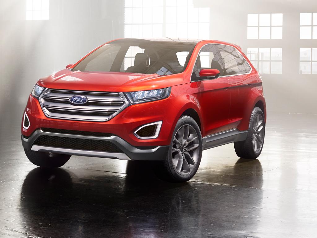 Ford Edge Concept, un adelanto del próximo Edge