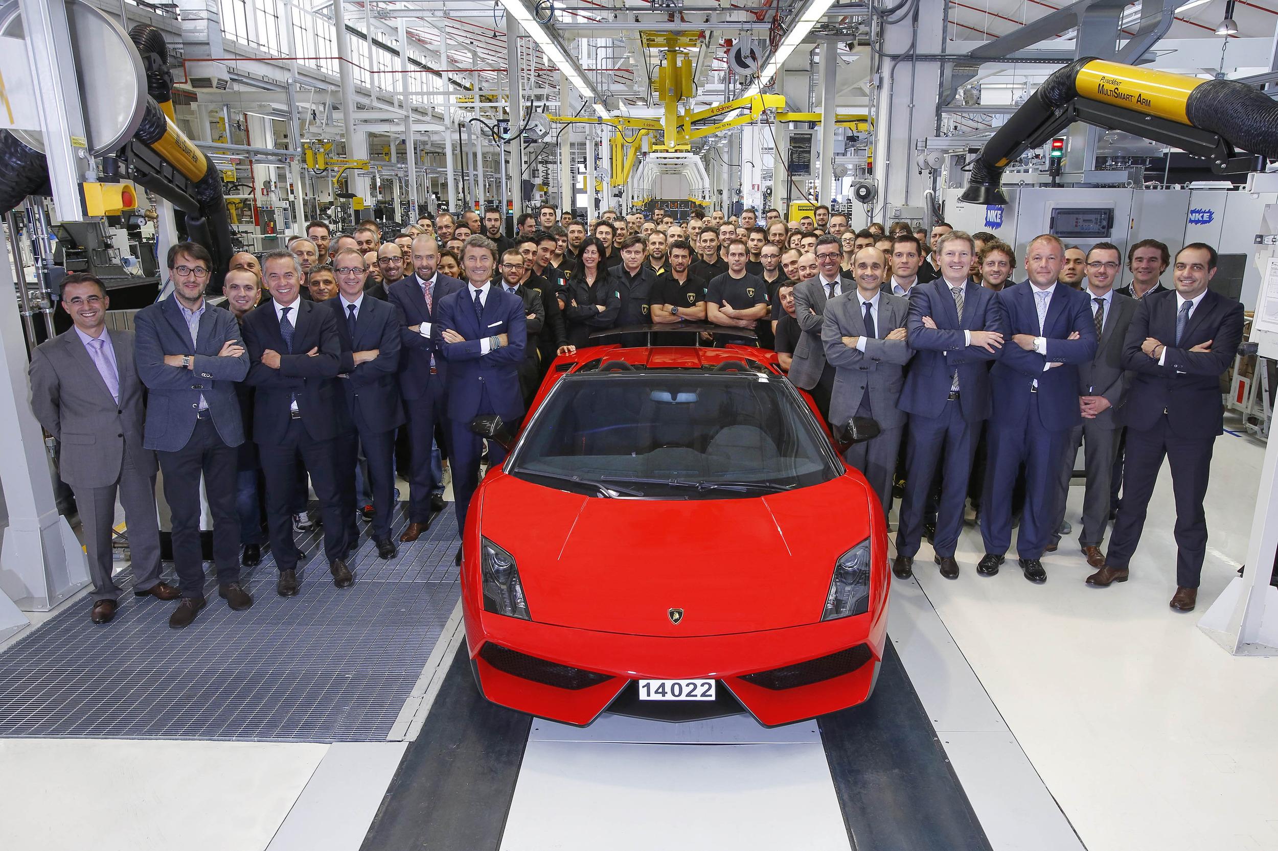 Lamborghini cesa la producción del Gallardo de forma definitiva