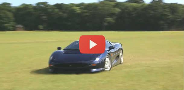 Vídeo: Rally con un Jaguar XJ220