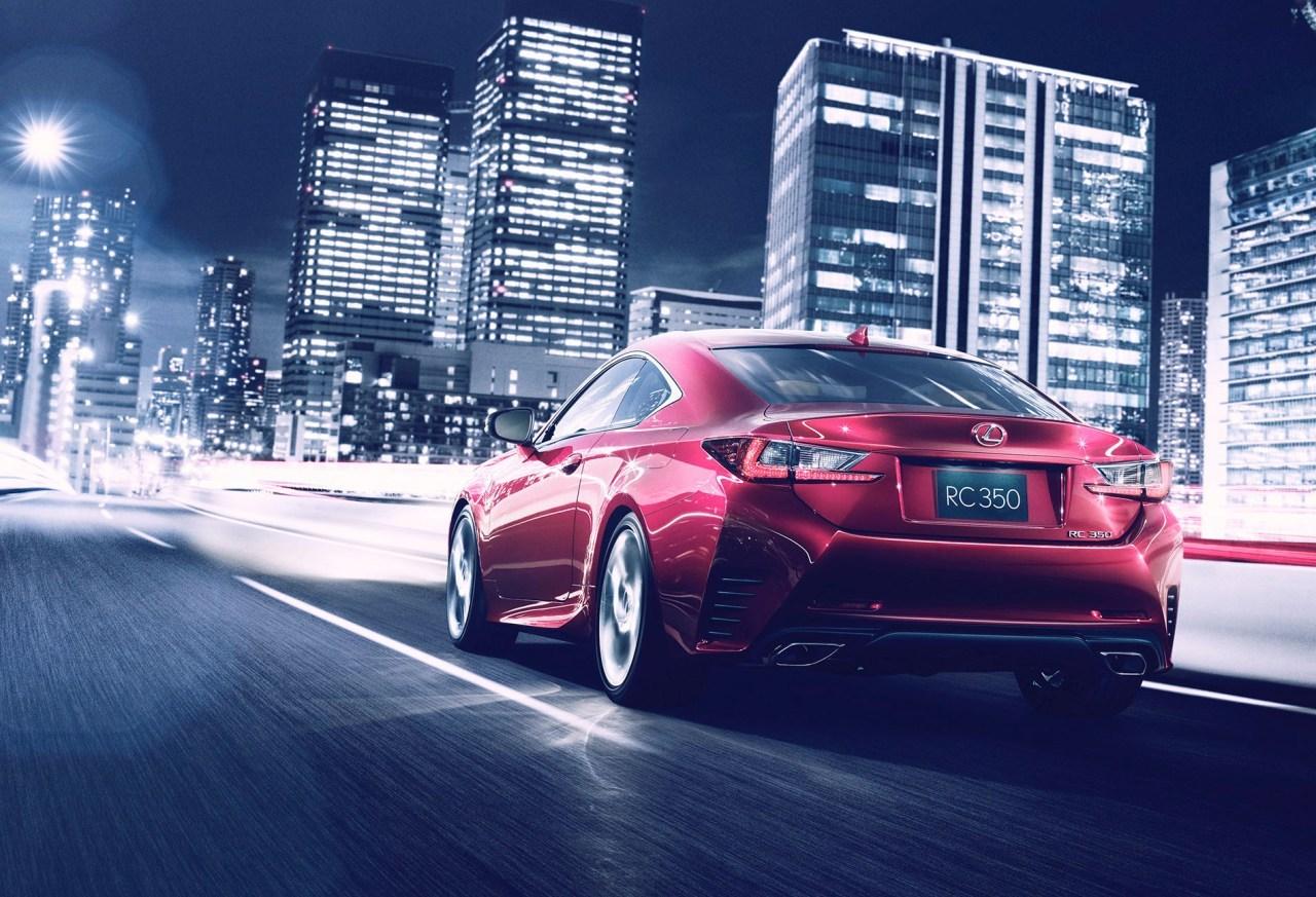 Lexus RC, un coupé con mucha personalidad