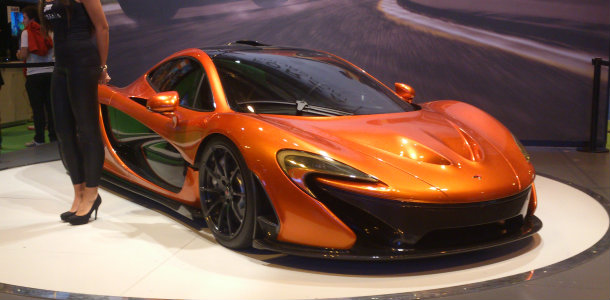 Los coches de la Madrid Games Week: McLaren P1