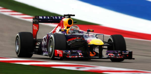 GP de Estados Unidos 2013: Vettel sin frenos