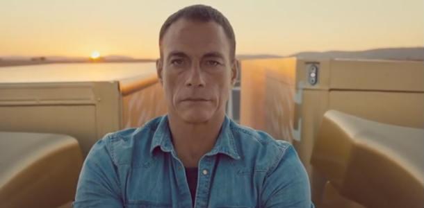 Alucina con Van Damme entre dos Volvos