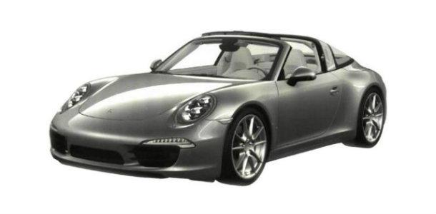Filtrado el Porsche 911 Targa