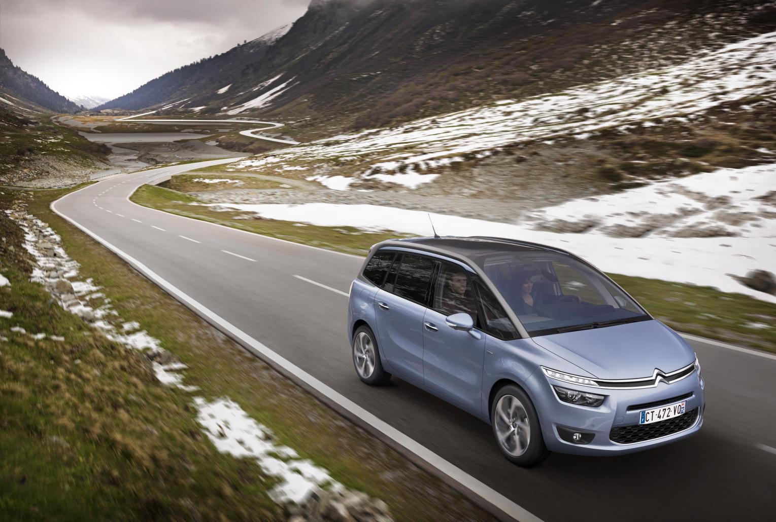 La revista Top Gear le otorga al Citroën C4 Gran Picasso el premio de mejor automóvil familiar del año