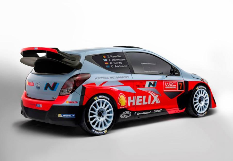 Así se muestra el Hyundai i20 WRC oficial