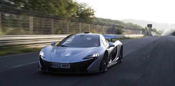 McLaren innova hasta en el limpiaparabrisas cambiándolo por ultrasonidos