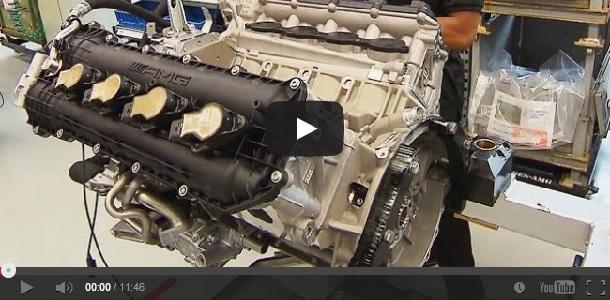 Vídeo: Fabricación de los motores V8 de Mercedes-AMG