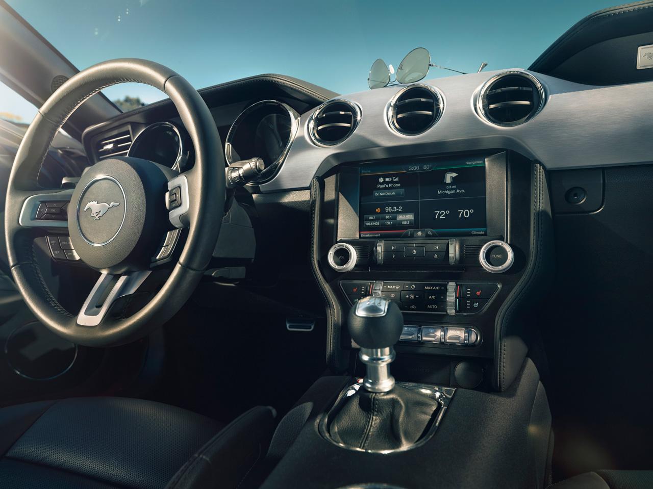 Así se muestra el nuevo Ford Mustang
