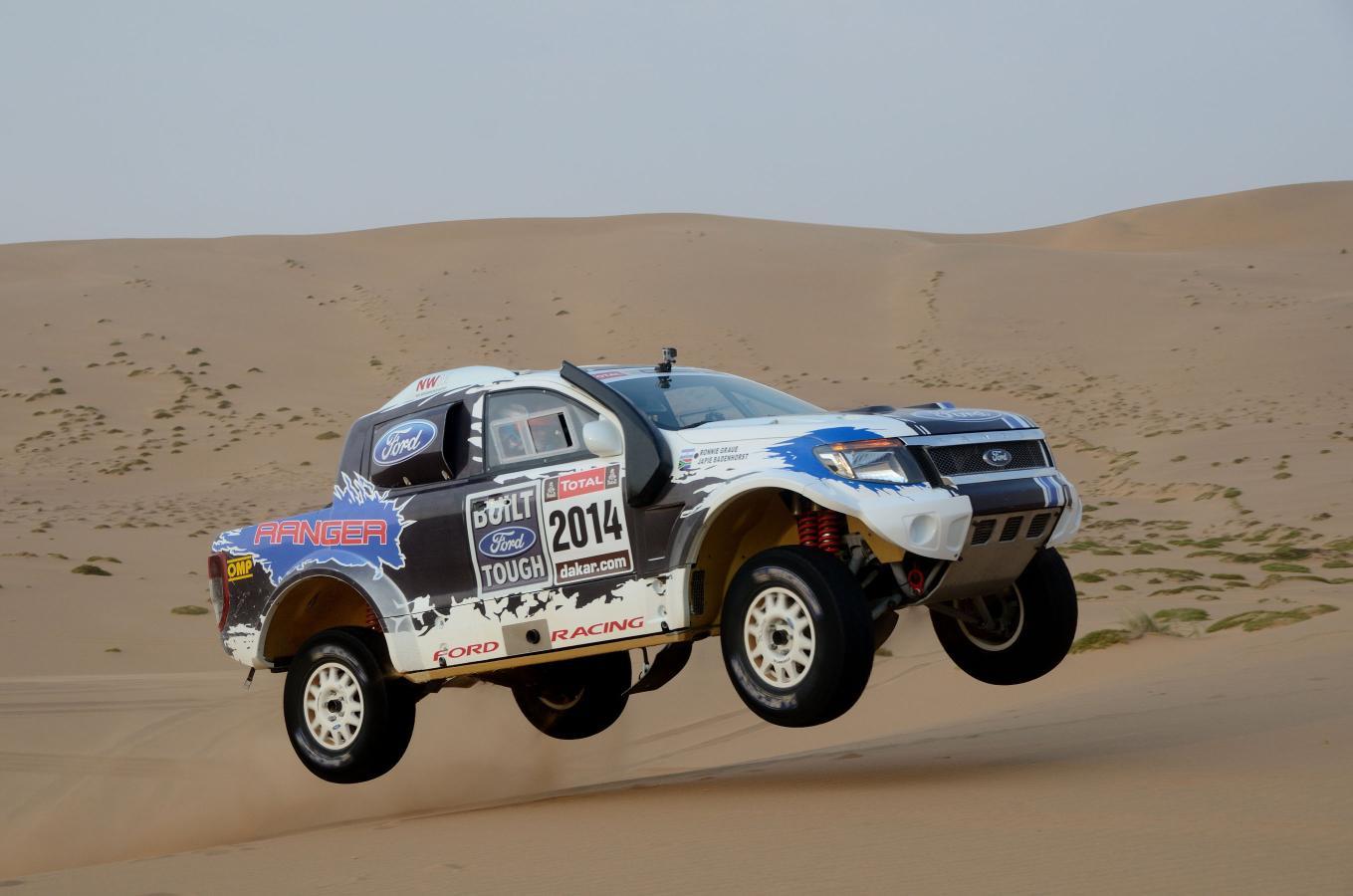 Ford Racing participará este año en el Dakar con dos Ranger