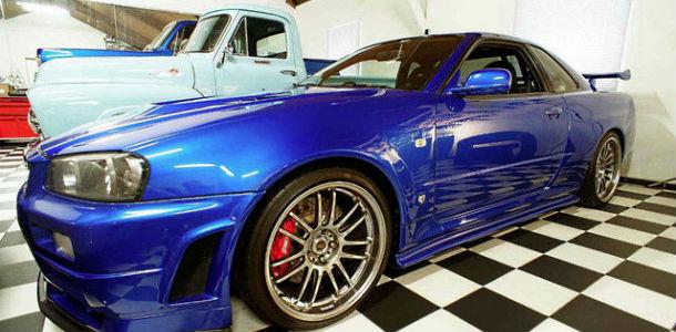 El Nissan GT-R de Paul Walker en venta por 1 millón de €