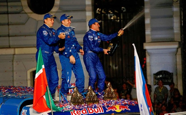 Equipo Kamaz Andrey Karginov, ganadores Dakar 2014