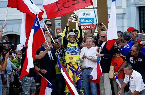 Ignacio Casale, ganador Dakar 2014