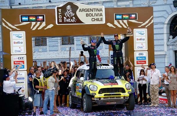 Nani Roma, ganador Dakar 2014