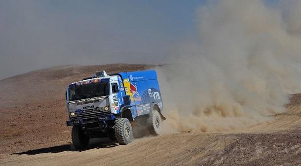 Andrey Karginov, Etapa 11, Dakar 2014