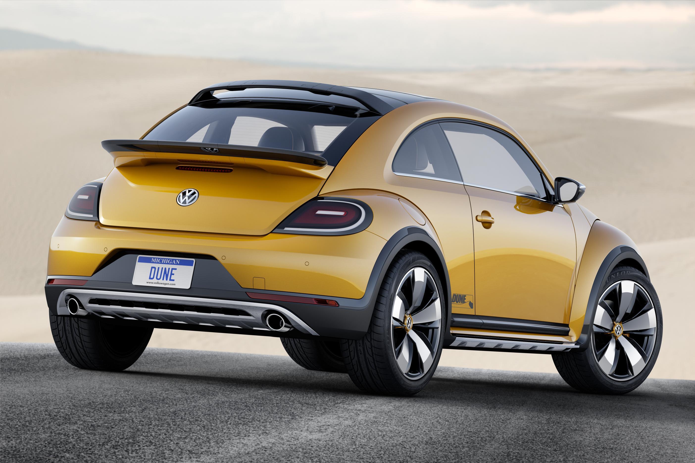 Volkswagen Beetle Dune, el Beetle se pone las botas de montaña