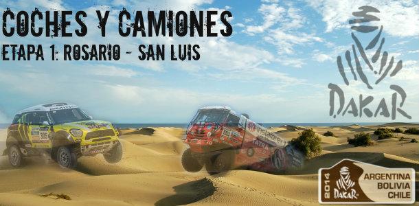 Dakar 2014: etapa 1: Rosario – San Luis (Coches y Camiones)