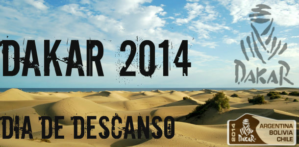 Dakar 2014: Día de descanso