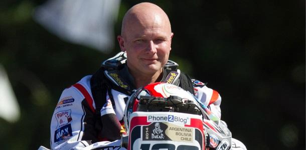 Dakar 2014: El motorista Eric Palante fallece en la 5ª Etapa