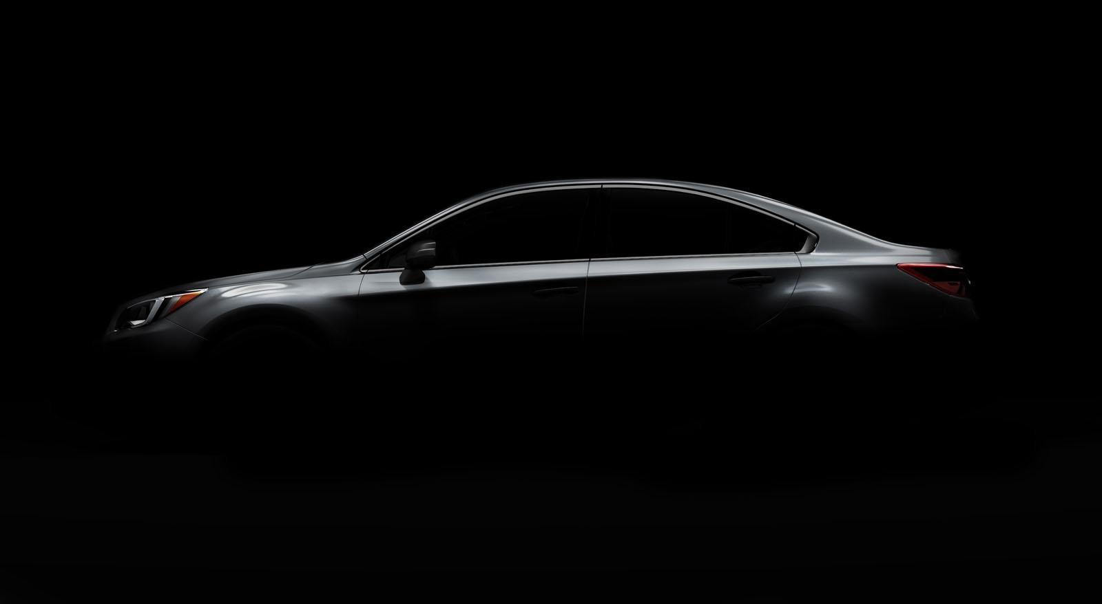 Subaru publica el primer teaser del nuevo Legacy