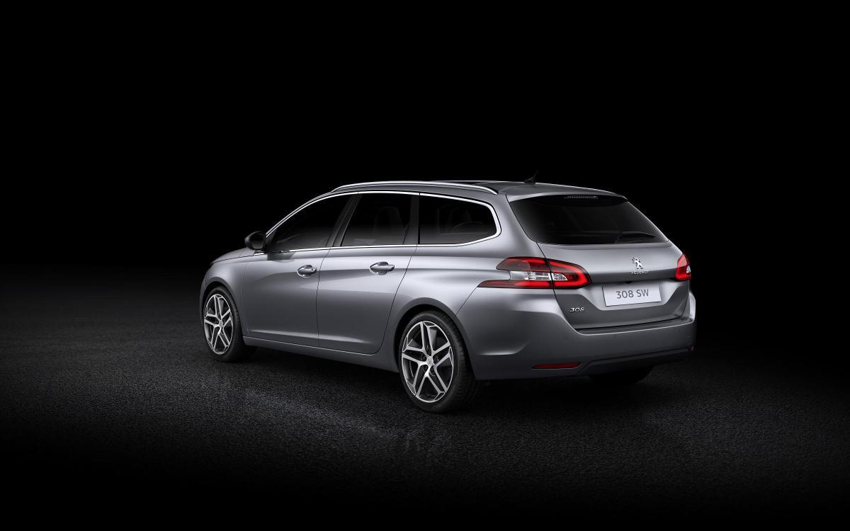 Así de elegante y de dinámico se muestra el nuevo Peugeot 308 SW
