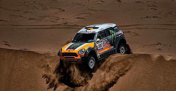 Orlando Terranova, Etapa 11, Dakar 2014