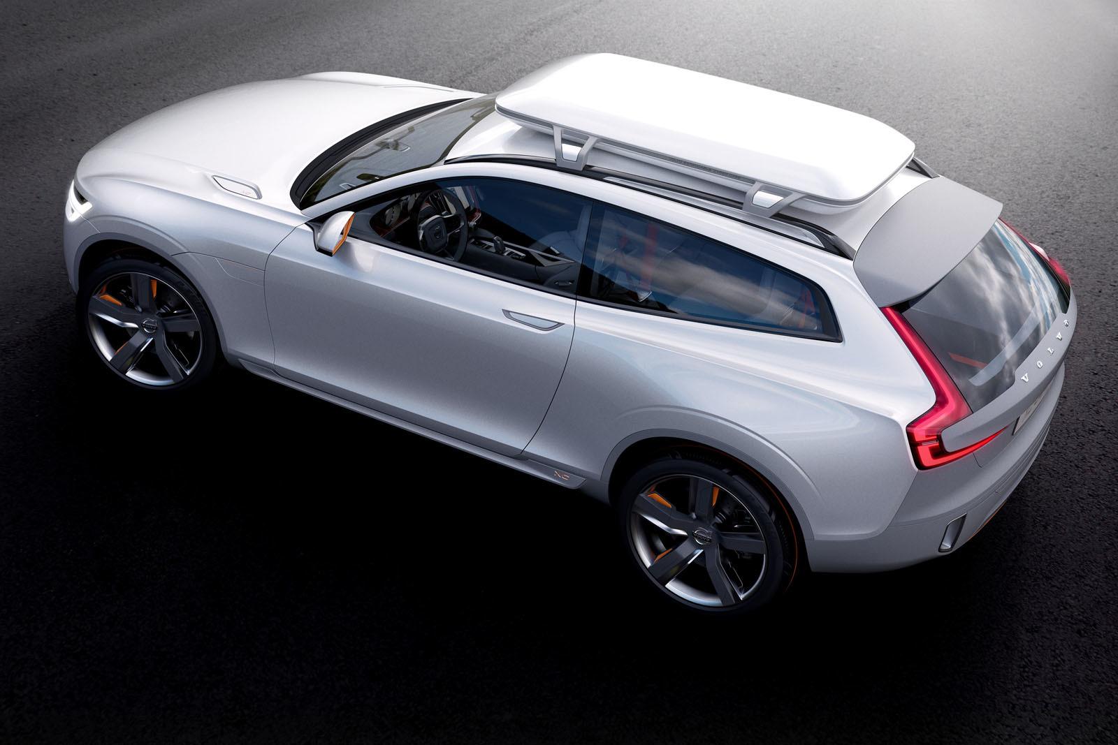 Volvo nos presenta de forma oficial el Concept XC Coupé
