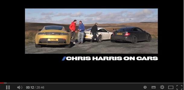 C63 AMG Black Series, V12 Vantage S y 911 GT3 enfrentados en vídeo