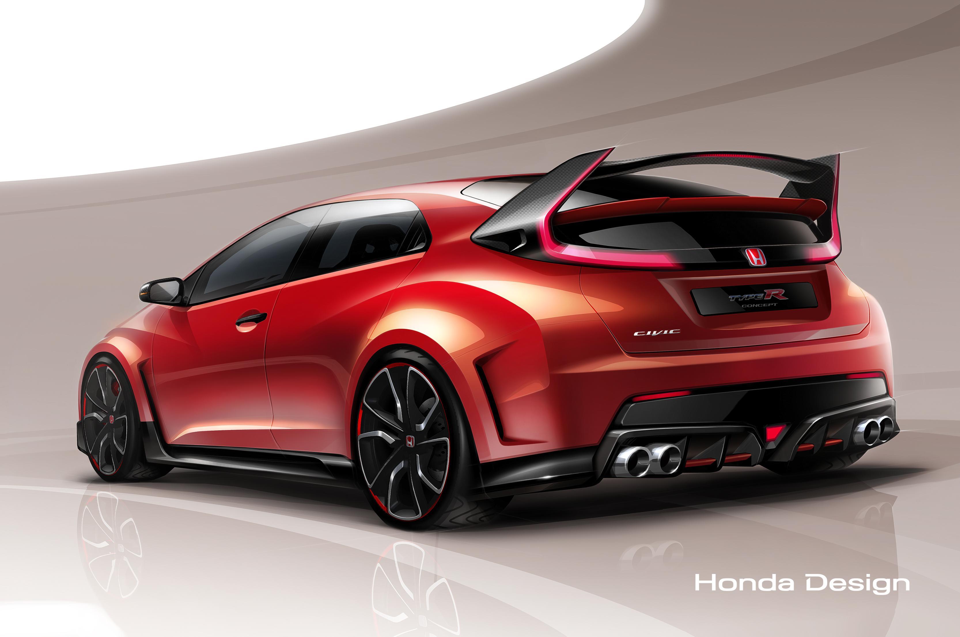El Honda Civic Type-R Concept se dejará ver en el Salón de Ginebra
