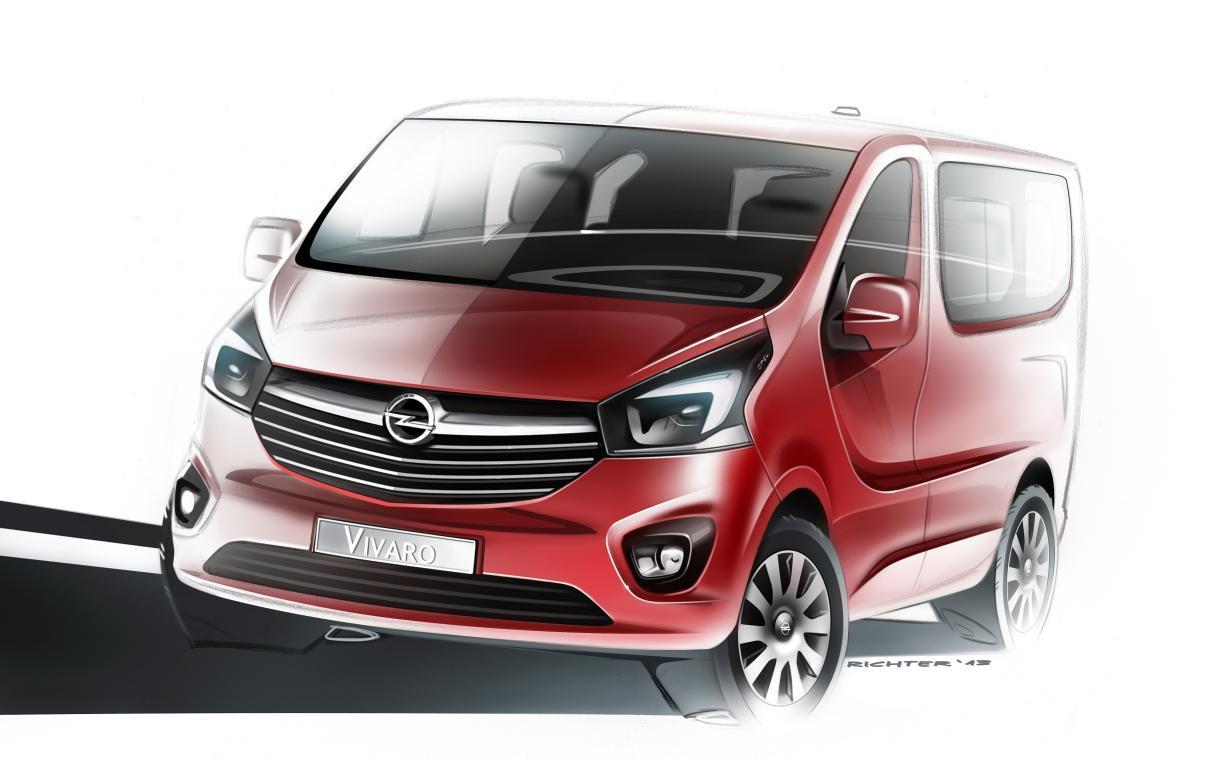 Opel nos muestra el nuevo Vivaro en un teaser