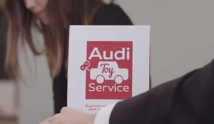 Audi nos muestra como se desarrolló el Audi Toy Service