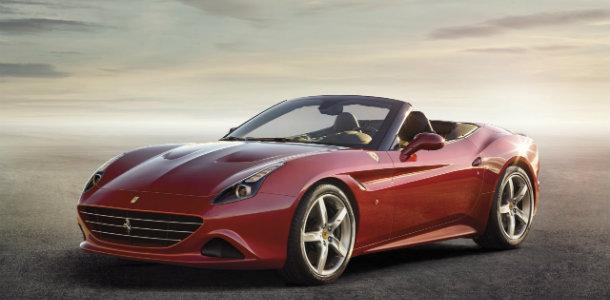 Ferrari California T, con T de turbo