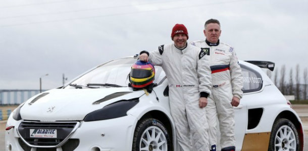 Jacques Villenueve prueba suerte en el RallyCross