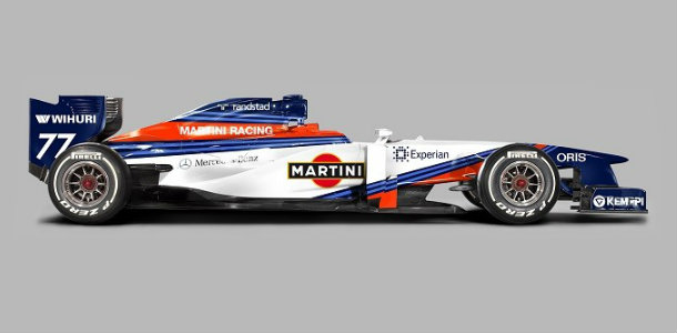 Cuando Williams se vista de Martini será brutal