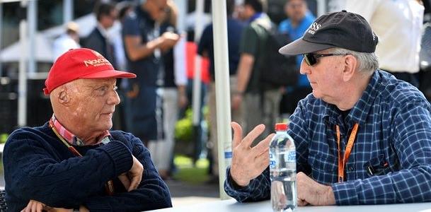 A Niki Lauda le gusta la nueva F1