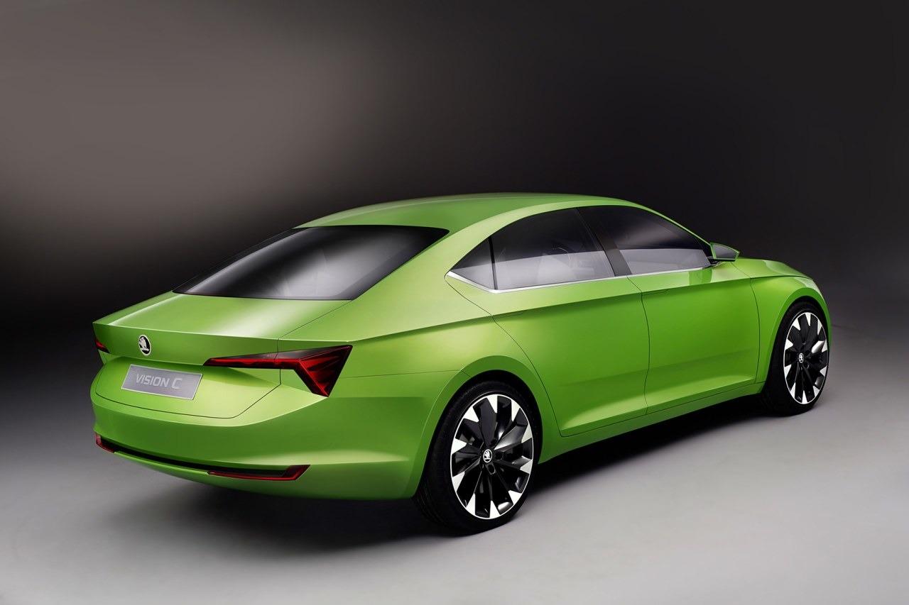 Skoda Vision C Concept, una berlina con espíritu de coupé en estado conceptual