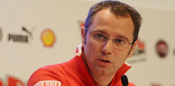 Stefano Domenicali, al frente de la Scuderia Ferrari, dimite