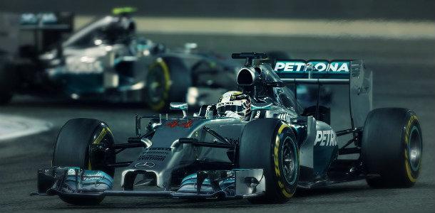 GP F1 Bahréin 2014: Hamilton, Rosberg y Mercedes
