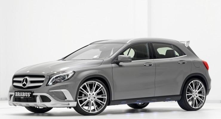 Brabus moldea a su gusto el Mercedes GLA