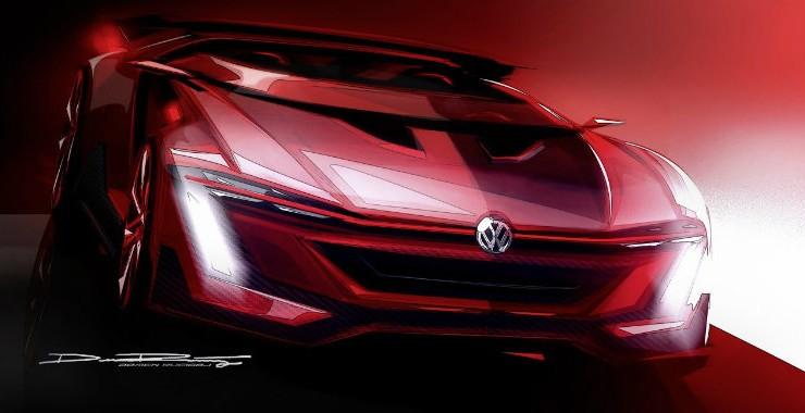 Volkswagen Golf GTI Vision GT estará en Wörthersee